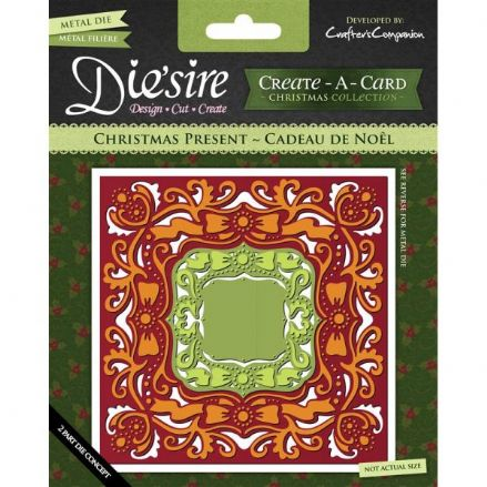 DS-CADX-PRE ~ CHRISTMAS PRESENT ~ Create-A-Card by Crafter's Companion